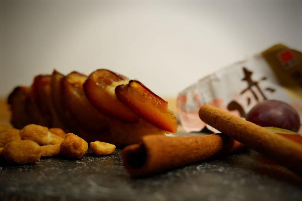 Pflaumenkuchen Miso Cashew