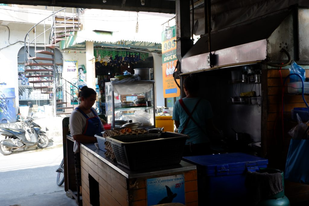 Roasted Duck kitchen