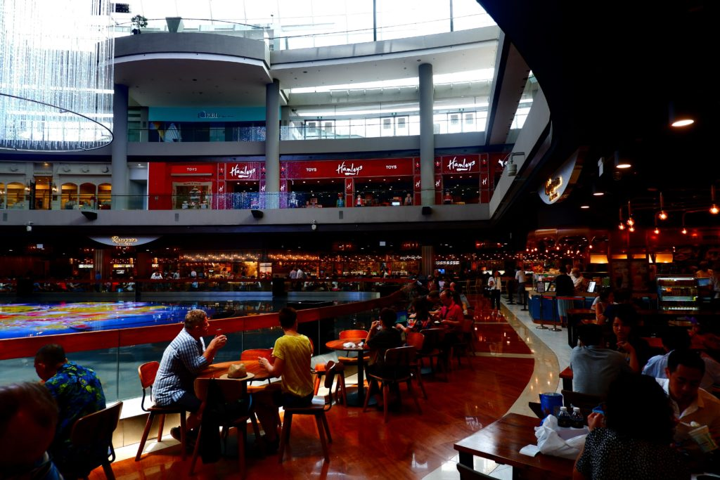 Food Court Marina bay