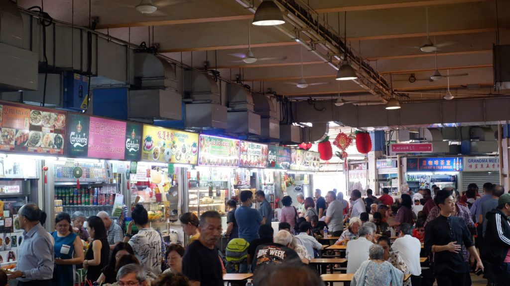 Tekka Hawker Little India