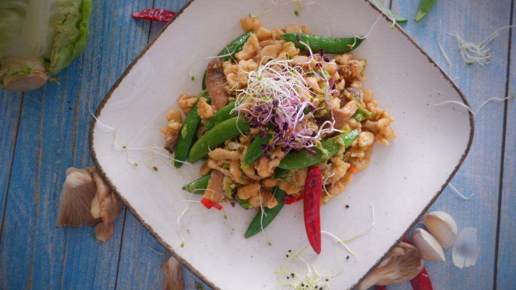 Pad Thai, Spätzle, Kale