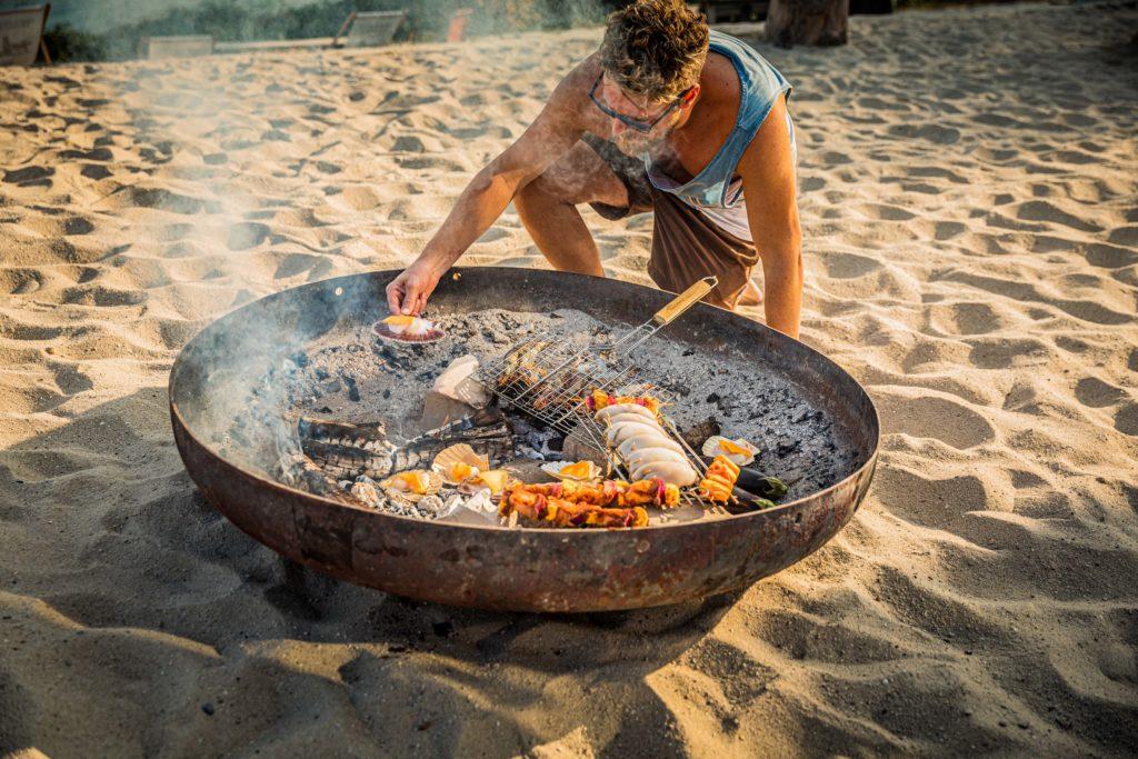 Beach food